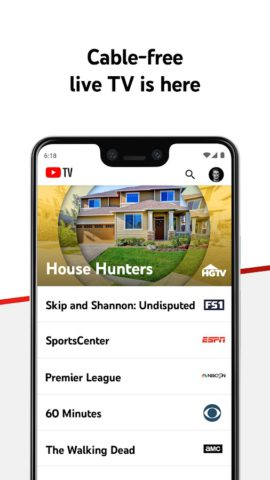 YouTube TV – Watch & Record Live TV