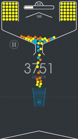 100 Balls – Tap to Drop the Color Ball Game