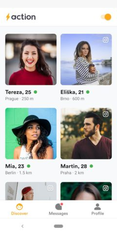 Action Dating – Meet Nearby People Right Now