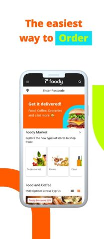 Foody – Food and Groceries Delivery in Cyprus