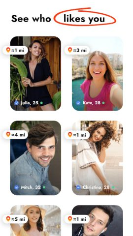 Kismia – Meet Singles Nearby and Find Your Match