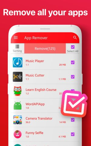 Remove apps – Delete app remover and uninstaller