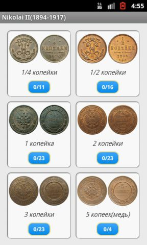 Imperial Russian Coins
