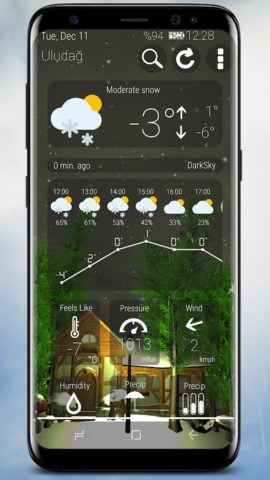 Animated 3D Weather
