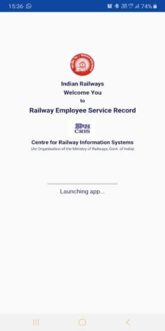 HRMS Employee Mobile App for Indian Railways