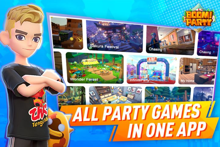Boom! Party – Explore and Play Together