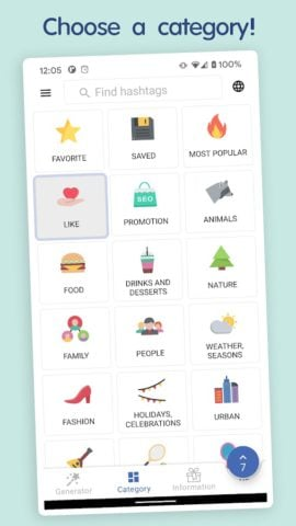 in Tags – Best hashtags generator for social media