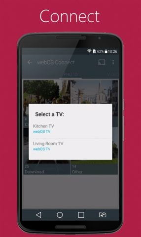 LG webOS Connect