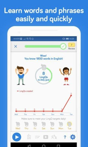 LingQ- Learn 42 languages: Spanish, French, German