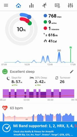 Notify for Mi Band: Your privacy first