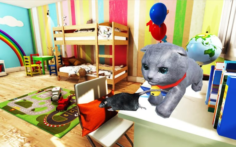 Kitten Cat Simulator:Cute cat SMASH Kids Room