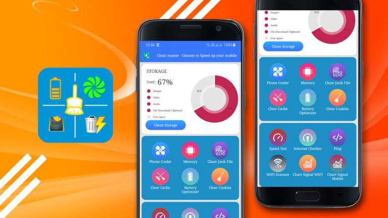 Clean master – Cleaner to Speed up your mobile