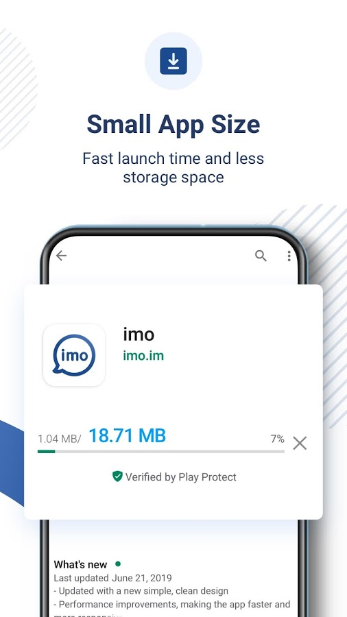 App imo video chat download imo free