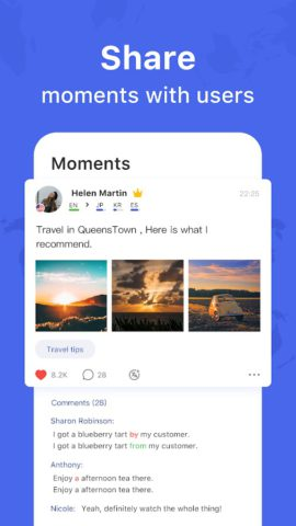 HelloTalk – Chat, Speak & Learn Languages for Free