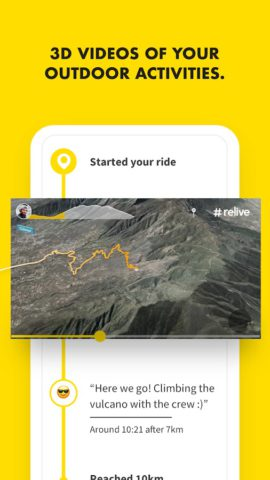 Relive: Run, Ride, Hike & more
