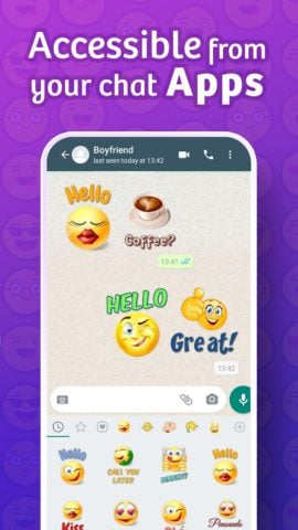 WhatsLov: Stickers d'amour et GIFs (WAStickerApps)