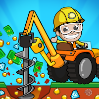 Idle Miner Tycoon : Manager de mine et gestion
