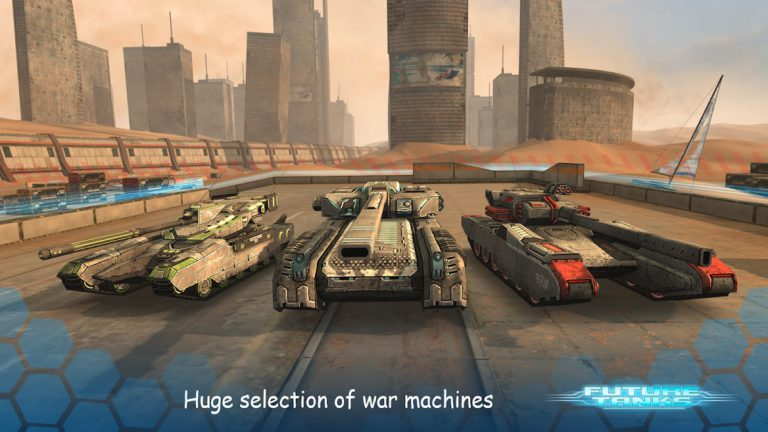 Future Tanks: Action Army Tank Games
