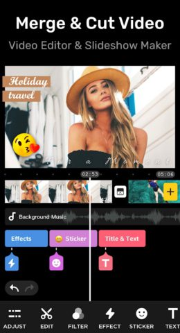 Video Editor for Youtube & Video Maker – My Movie