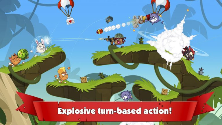 Wormix: Online Tactical Shooting Game for Mobile