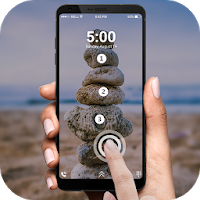 Touch Lock Screen – Toccare Photo Position