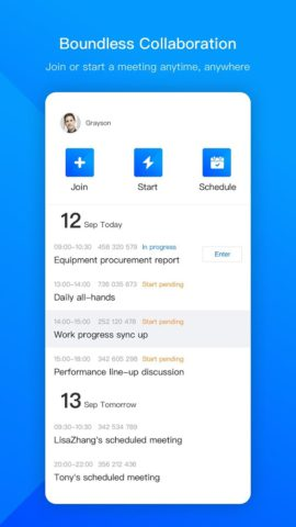 VooV Meeting – Tencent Video Conferencing