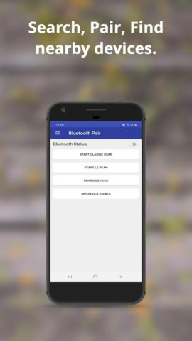 Bluetooth Pair & Auto connect – BLE Scanner