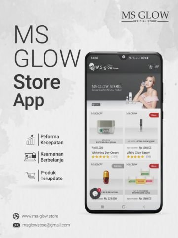 MS GLOW – OFFICIAL APP STORE