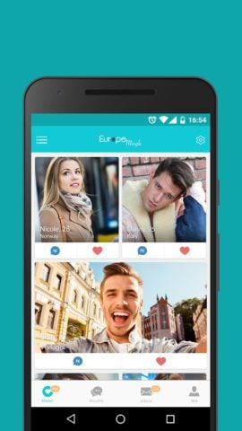 Europe Mingle – Dating Chat with European Singles