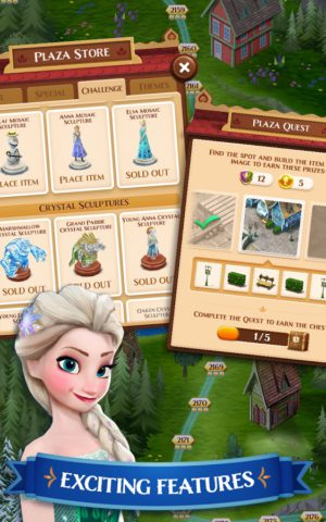 Disney Frozen Free Fall – Play Frozen Puzzle Games