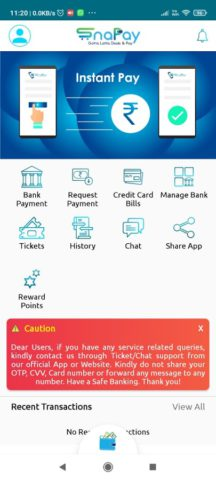 Snapay | Pay Bills Instantly with Credit Cards etc
