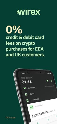Wirex Card & Multicurrency Crypto Wallet
